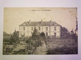 LIGNE  (Loire-Atlantique)  :  Le  PRESBYTERE   1927   - Ligné