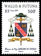 WALLIS ET FUTUNA 2011 - Yv. 746 **   Faciale= 4,19 EUR - Blason Mgr Ghislain De Rasilly  ..Réf.W&F22283 - Wallis-Et-Futuna