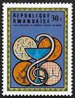 TANZANIE 1975  -  YT 655 - 10è Anniv. De L'université Nationale Du Rwanda -  NEUF** - Rwanda