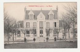 Fondettes.37.Indre Et Loire.La Mairie. - Fondettes