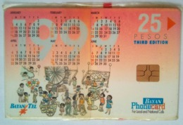 Bayan Tel 25 Pesos Calendar   MINT - Philippines