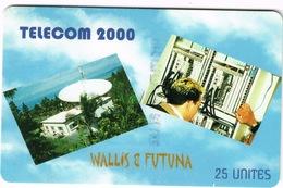 Wallis Et Futuna Telecarte Telecard Phonecard  WF14 1998 Telecom 2000 Radar Telephone Ut TBE Sans Numero - Wallis Und Futuna