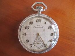 Montre A Gousset  .chronometre Satisfaction . En Etat De Marche - Watches: Bracket