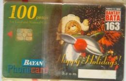 Bayan Tel Christmas 100 Pesos   MINT - Philippines