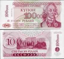 Transnistria  1996 - 100000 Rublei - Pick 31 UNC - Bankbiljetten
