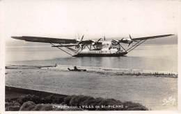 Aviation .  N° 50678 . Biscarrosse. Arrivée Du Ville De St Pierre. Hydravion - 1914-1918: 1ère Guerre
