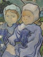 """Carte Ouvrante Peinture """"Deux Fillettes"""" De Vincent VAN GOGH Pour SOS Villages D'Enfants - Pittura & Quadri"""