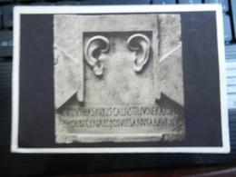 19400) MEDICINA MEDICI E MEDICINE NELLA ANTICA ROMA RILIEVO VOTIVO AD ESCULAPIO GUARIGIONE SORDITA' - Salute