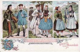 263875Gruss Aus Hessenland (Volkstrachten Aus Hessen) - Marburg