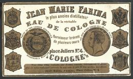 Carte Porcelaine Farina Eau De Cologne Place Juliers Coloogne 14 X 7,5 Cm - Koeln