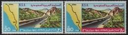Saudi Arabi (K.S.A) 1978 Route-Road-Strasse Taif-Abha-Gizan ** - Saudi Arabia