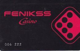 ESTONIA  KEY  CASINO Fenikss Casino - TALINN - Casino Cards