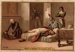 CHROMO DIDACTIQUE MORT DE HOCHE - Trade Cards