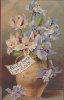 Bloem Fleur Flower Blume Mille Bons Souhaits Fantaisie Fantasiekaart Fantasie (In Very Good Condition) - Bloemen