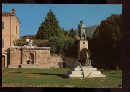 B7505 TREVI (UMBRIA) - PIAZZA GARIBALDI E MONUMENTO AI CADUTI - Italia