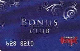 LITUANIA  KEY  CASINO Olympic Bonus Club - VILNUS - Casino Cards