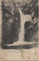 CPA 43 SAUGUES  La Cascade De Luchadou 1920 - Saugues