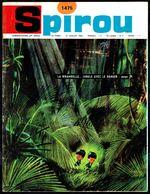 """SPIROU N° 1475 -  Année 1966 - Couverture """"LA RIBAMBELLE"""" De ROBA Et VICQ. - Spirou Magazine"""