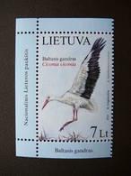 White Stork.Birds # Lietuva Litauen Lituanie Litouwen Lithuania # 2013 MNH #Mi. 1130 - Lithuania