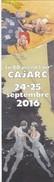 Marque Page LEPAGE Emmanuel Festival BD Cajarc 2016 (La Terre Sans Mal) - Bookmarks