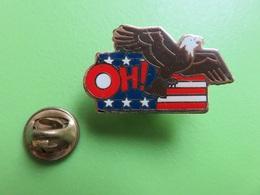 279 - Pin's - Aigle Américain - Oh ! - Signé Parkson - Pin's