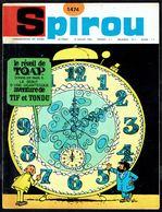 """SPIROU N° 1474 -  Année 1966 - Couverture """"TIF Et TONDU"""" De WILL Et ROSY. - Spirou Magazine"""