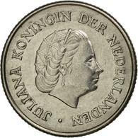Monnaie, Pays-Bas, Juliana, 25 Cents, 1963, TB+, Nickel, KM:183 - [ 3] 1815-… : Kingdom Of The Netherlands