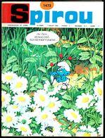 """SPIROU N° 1473 -  Année 1966 - Couverture """"SCHTROUMPFS"""" De PEYO. - Spirou Magazine"""