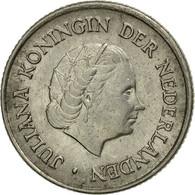 Monnaie, Pays-Bas, Juliana, 25 Cents, 1954, TB+, Nickel, KM:183 - [ 3] 1815-… : Kingdom Of The Netherlands