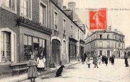 S835  -  Cpa 14  Trévières - Un Coin De La Place - France