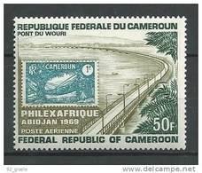 "Cameroun Aerien YT 129 (PA) "" Philexafrique "" 1969 Neuf** - Cameroon (1960-...)"