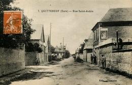Quittebeuf * Rue Saint Aubin - France