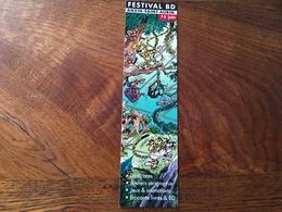 Marque Page Festival Bd Anzin - Marque-Pages