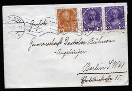 A5667) Österreich Austria Brief 3.8.15 Zensur Nach Berlin - 1850-1918 Imperium