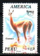 PEROU. N°1053 Oblitéré De 1995. Guanaco/UPAEP. - Stamps