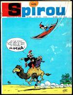 "SPIROU N° 1470 -  Année 1966 - Couverture "" FOUFI "" De KIKO. - Spirou Magazine"