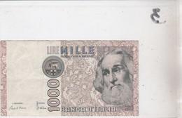 Billet 1000 Lires PB 459425 D - [ 2] 1946-… : Républic