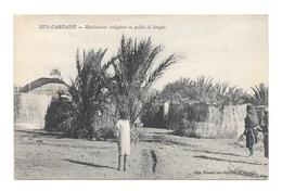 (21648-00) Ben Gardane - Habitations Indigènes En Paille De Sorgbo - Postcards
