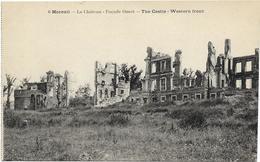 GUERRE 14 18 SOMME MOREUIL LE CHATEAU FACE OUEST - Guerre 1914-18