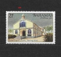 BAHAMAS   1982 Christmas - Churches   ** - Bahamas (1973-...)