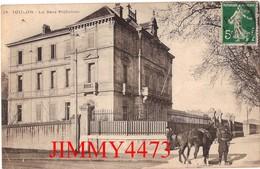CPA - La Sous Préfecture, Chevaux, Militaire En 1913 - TOULON 83 Var - N° 29 - Toulon