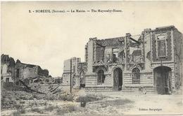 GUERRE 14 18 SOMME MOREUIL LA MAIRIE - Guerre 1914-18