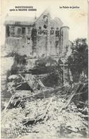 GUERRE 14 18 SOMME MONTDIDIER LE PALAIS DE JUSTICE - Guerre 1914-18