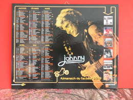 Calendrier Johnny Hallyday 2019 - On A Tous Quelques Chose De Johnny - - Grand Format : 2001-...
