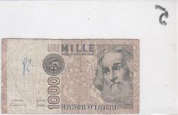 Billet 1000 Lires IA 706604 F - [ 2] 1946-… : Républic