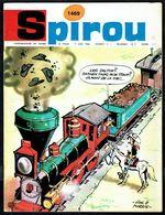 """SPIROU N° 1469 -  Année 1966 - Couverture """"LUCKY LUKE"""" De MORRIS. - Spirou Magazine"""