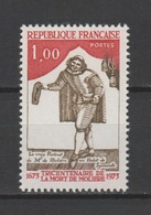 FRANCE / 1973 / Y&T N° 1771 ** : Molière - Gomme D'origine Intacte - Unused Stamps