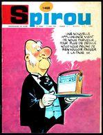 """SPIROU N° 1468 -  Année 1966 - Couverture """"RIBAMBELLE"""" De ROBA Et VICQ. - Spirou Magazine"""