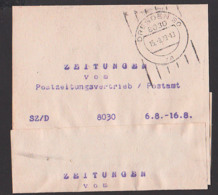 Streifbandsendung 1979 Dresden Frauenwald, SZ/D (Sächsische Zeitung Dresden) Dresden Germany East - [6] République Démocratique