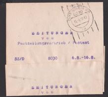 Streifbandsendung 1979 Dresden Frauenwald, SZ/D (Sächsische Zeitung Dresden) Dresden Germany East - [6] República Democrática